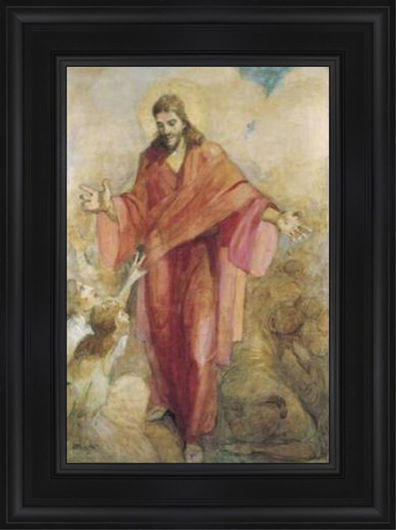 Christ In A Red Robe