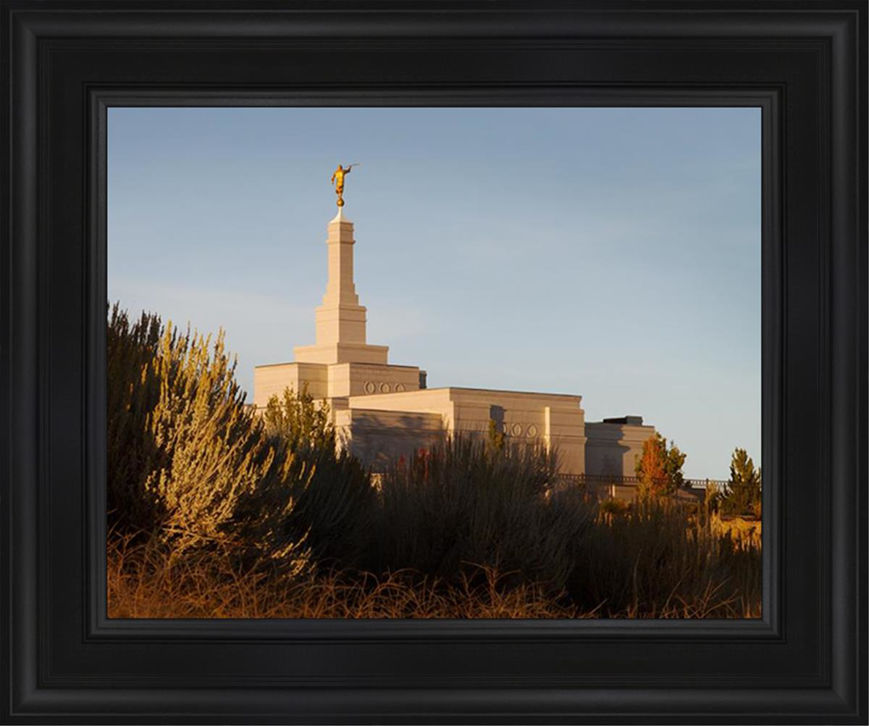 Reno Temple Sunset