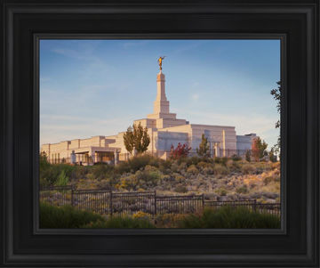 Reno Temple With Fence