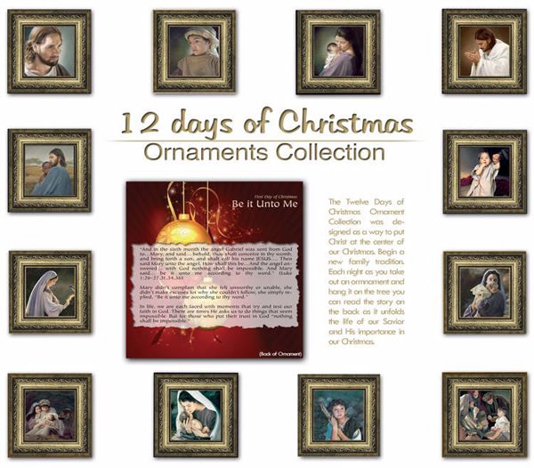 Picture for category $50 12 days of Christmas Ornament Collection