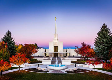 Denver Temple Bright Millennial Day