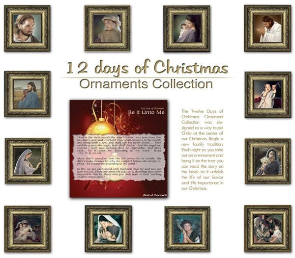 Picture of Christmas Ornament Set