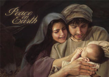 Picture of Peace On Earth Christmas Card