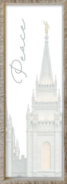 Salt Lake City Temple Spire by Alan Fullmer