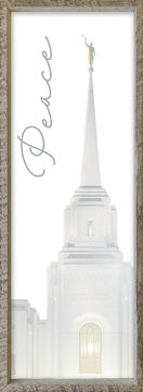 Brigham City Temple Spire by Alan Fullmer 8 X 24