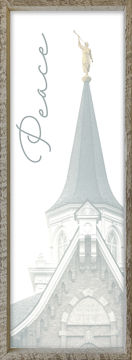 Provo City Center Temple Spire by Alan Fullmer 8 X 24