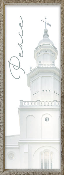 St. George Temple Spire by Alan Fullmer 8 X 24