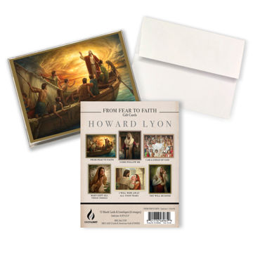 From Fear to Faith Gift Card Set 1