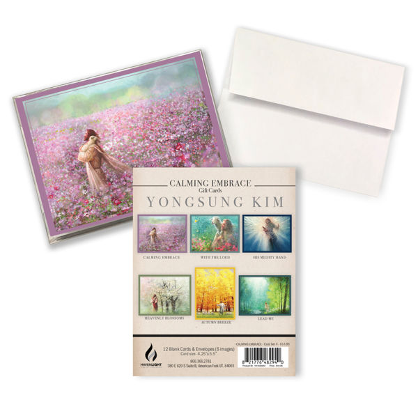 Calming Embrace Gift Card Set 4