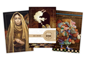 James Christensen Come Follow Me Study Notebooks Set 1
