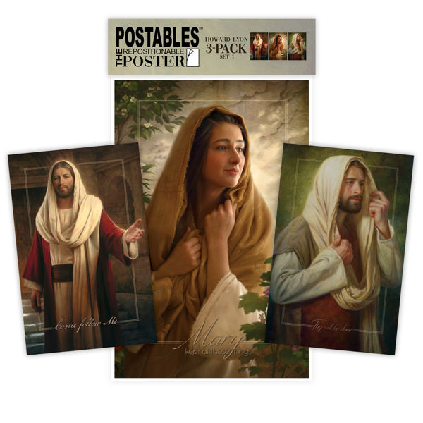 Howard Lyon Postables Set 1