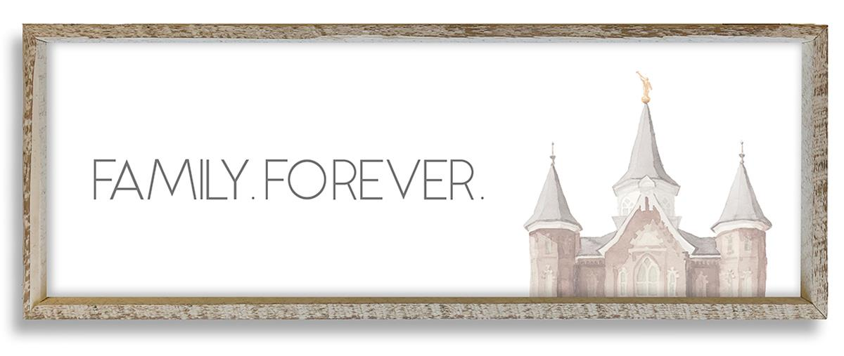 Provo City Center Temple Top Family Forever