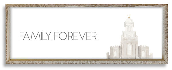 Logan Temple Top Family Forever 36 X 12