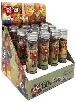 Faith, Hope & Charity 12 Pack Test Tube Itsy Bitsy Puzzle