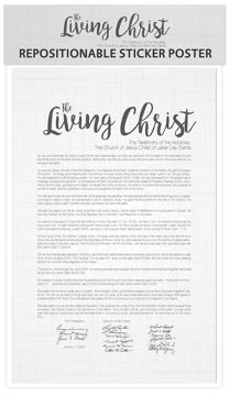 The Living Christ Postable